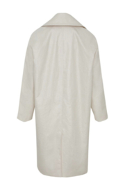 Martin Grant LINEN COCOON COAT - Back cropped