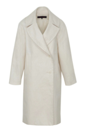 Martin Grant LINEN COCOON COAT - Side cropped