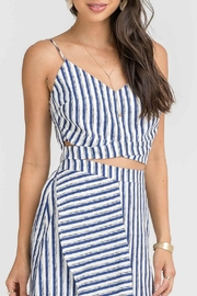 Lush Linen Crop Top - Product Mini Image