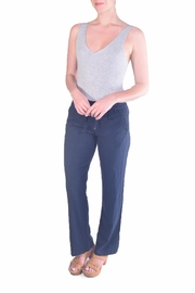 Love Tree Linen Drawsrtring Pants - Product Mini Image