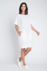 Anemone Linen Dress - Front full body