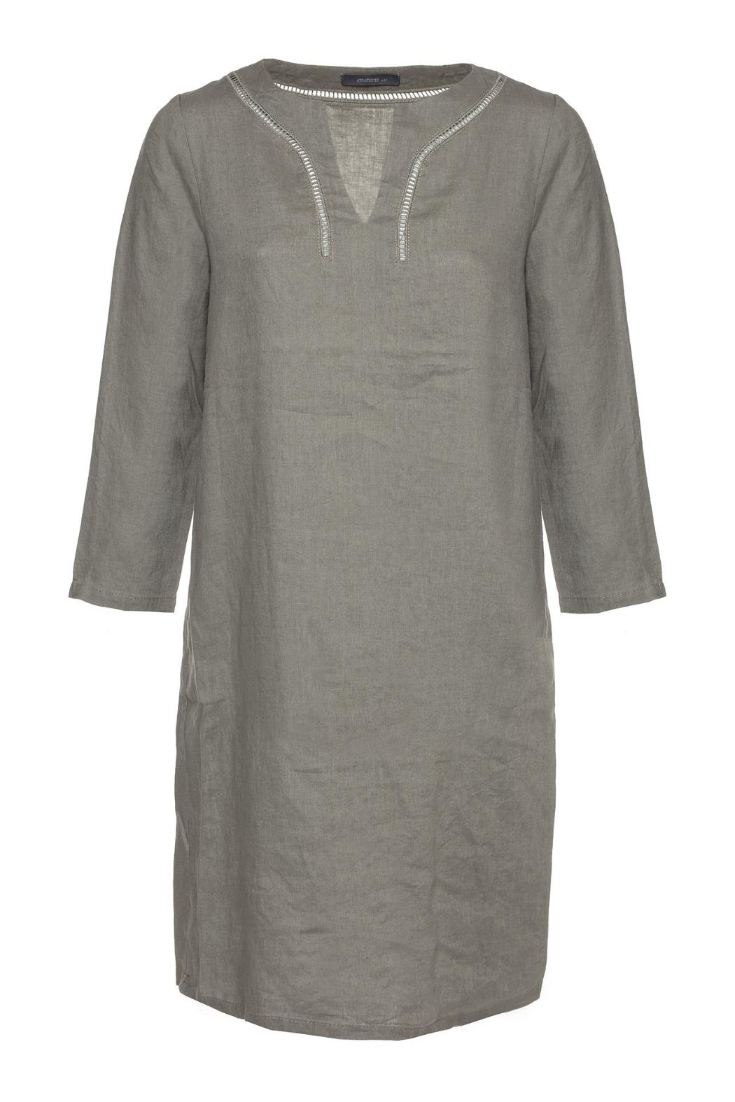 Emotions Linen Dress - Main Image