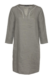 Emotions Linen Dress - Front cropped