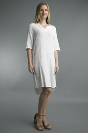 Tempo Paris  LINEN DRESS - Product Mini Image