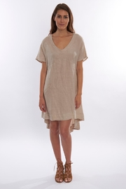 Sagaform Linen High-Low Dress - Front cropped