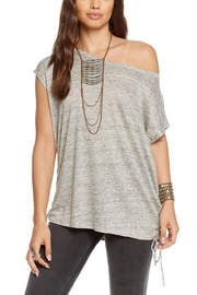 Chaser Linen Lace-Up Dolman - Product Mini Image