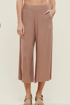 Staccato Linen Look Culottes - Alternate List Image