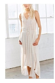 Heather Linen Maxi - Front cropped