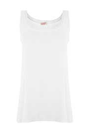 SUZY D Linen mix tank - Product Mini Image