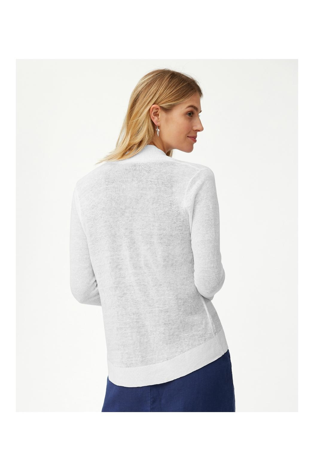 Tommy Bahama Linen Open Cardigan - Front Full Image