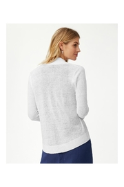 Tommy Bahama Linen Open Cardigan - Front full body