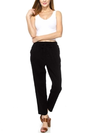 Love Tree Linen Pants with Pockets - Product Mini Image
