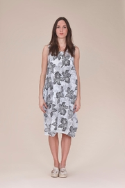 UCHUU Linen Printed Dress - Product Mini Image