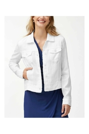 Tommy Bahama Linen Raw-Edge Jacket - Product Mini Image