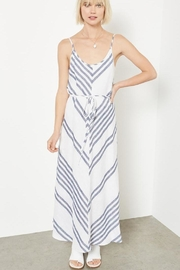 Fifteen Twenty Linen Striped Dress - Product Mini Image
