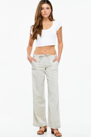 MONTREZ LINEN SUMMER RESORT PANTS - Product Mini Image