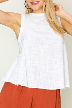 fashion on earth Linen Swing Tank - Product List Image