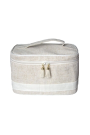 Mainstreet Collections Linen Tain Case - Front cropped