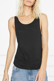 Anine Bing Linen Tank Top - Product Mini Image
