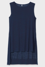Elk Linen Tunic Tank - Back cropped