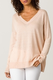 Margaret O'Leary Linen V-Neck - Product Mini Image