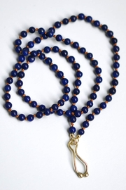 Linie Clara Kaesdorf Blue Lapislazuli Necklace - Front full body