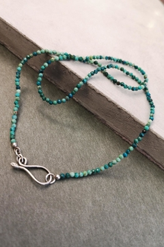 Linie Clara Kaesdorf Turquoise Chrysocolla Necklace - Product List Image