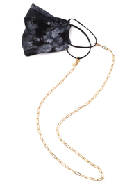 FAME ACCESORIES Link Mask Chain - Front cropped