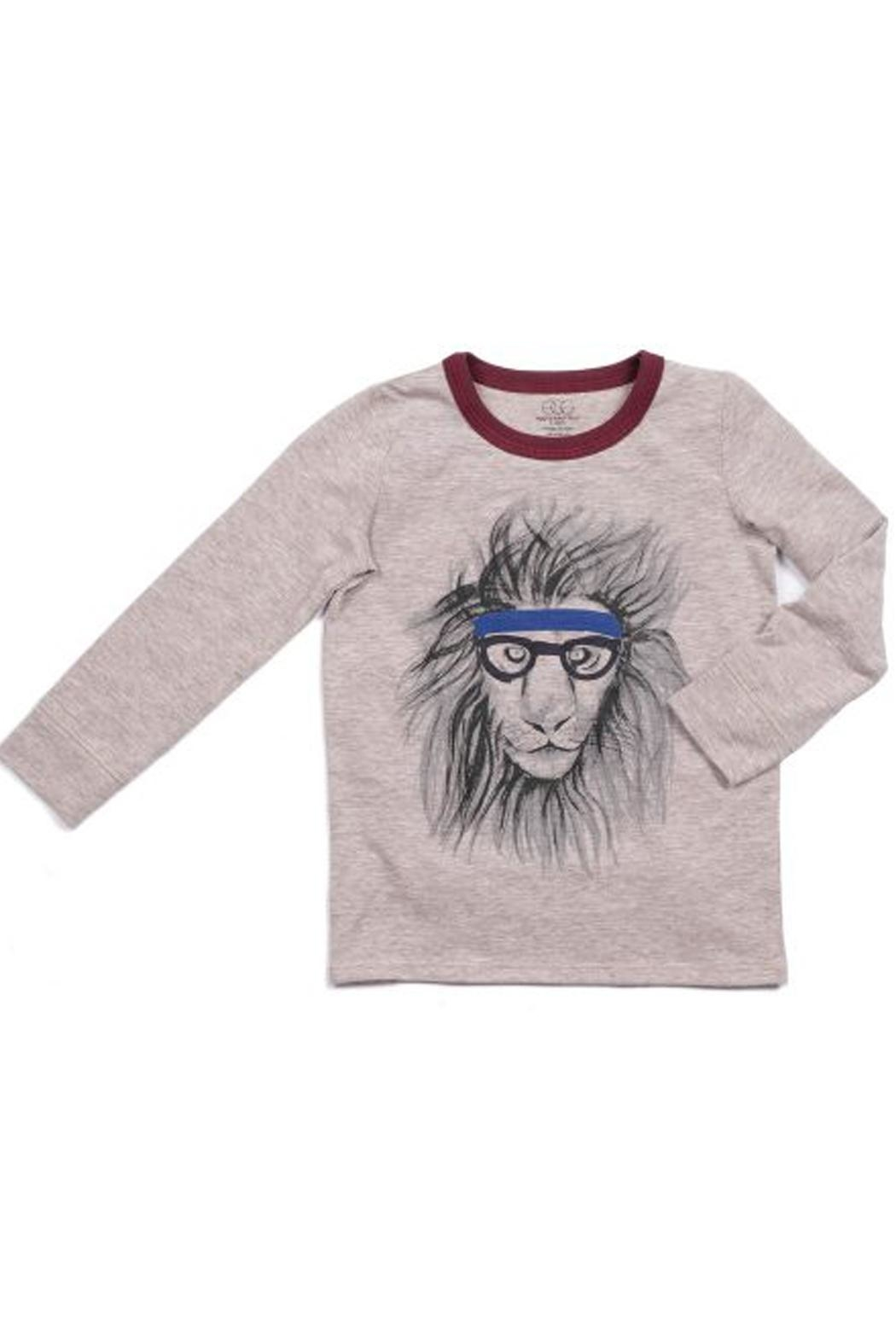 Egg  by Susan Lazar Lion Graphic Tee - Main Image