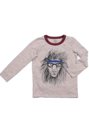 Egg  by Susan Lazar Lion Graphic Tee - Front cropped