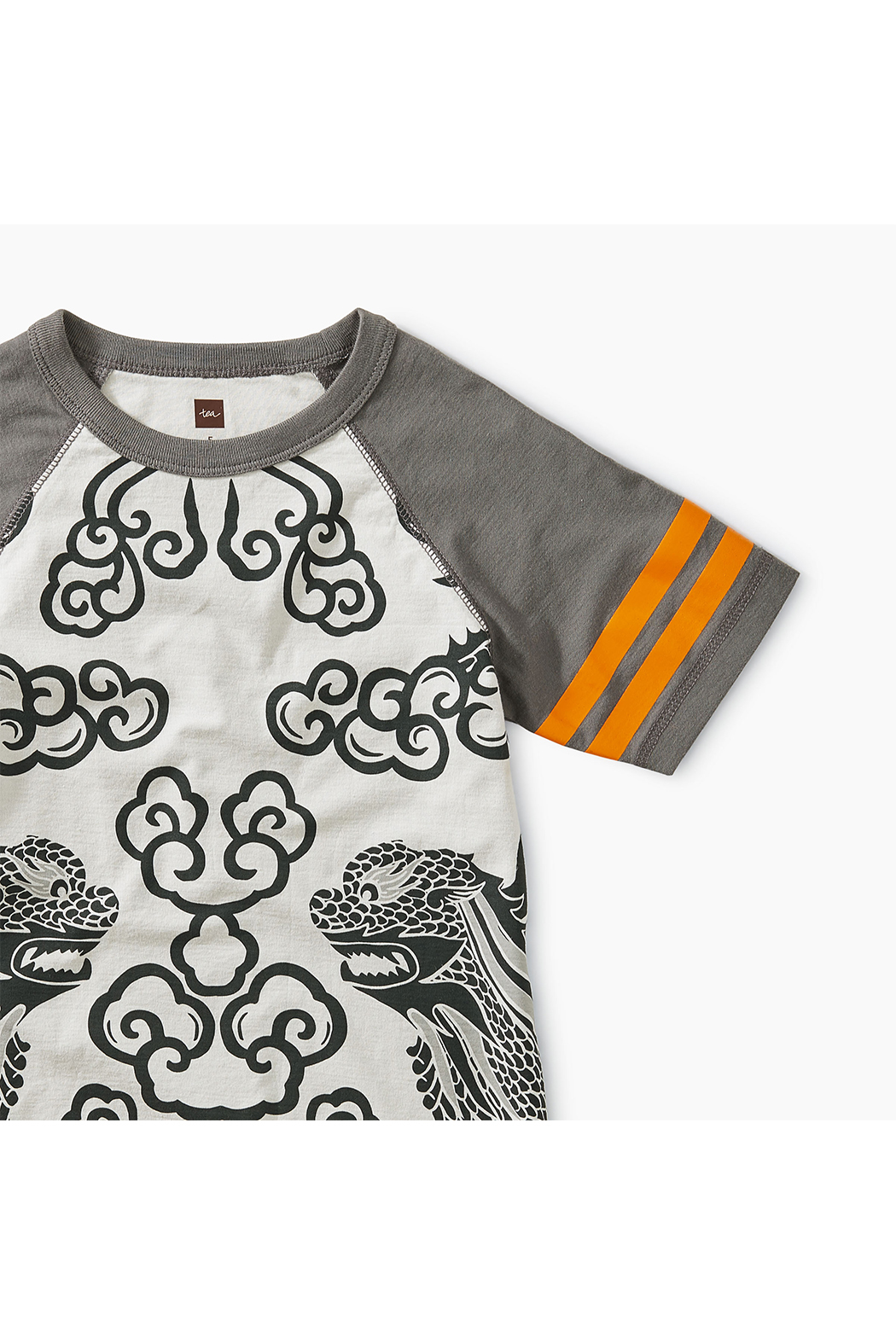 Tea Collection Lion Raglan Tee - Front Full Image