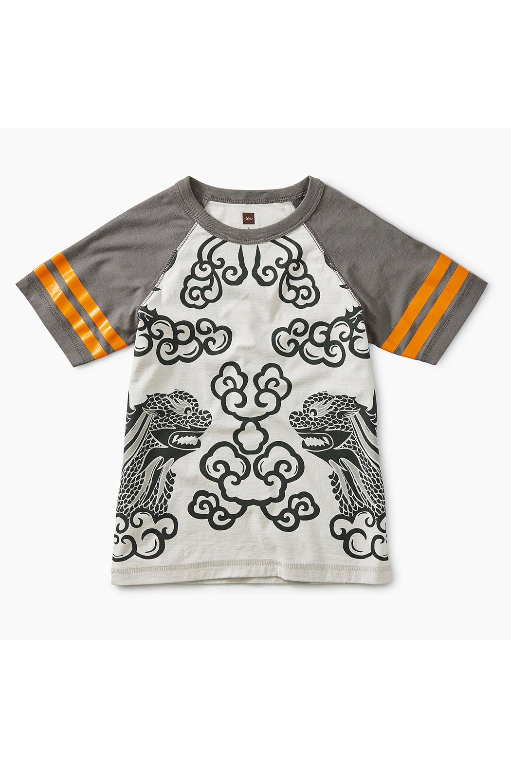 Tea Collection Lion Raglan Tee - Front Cropped Image