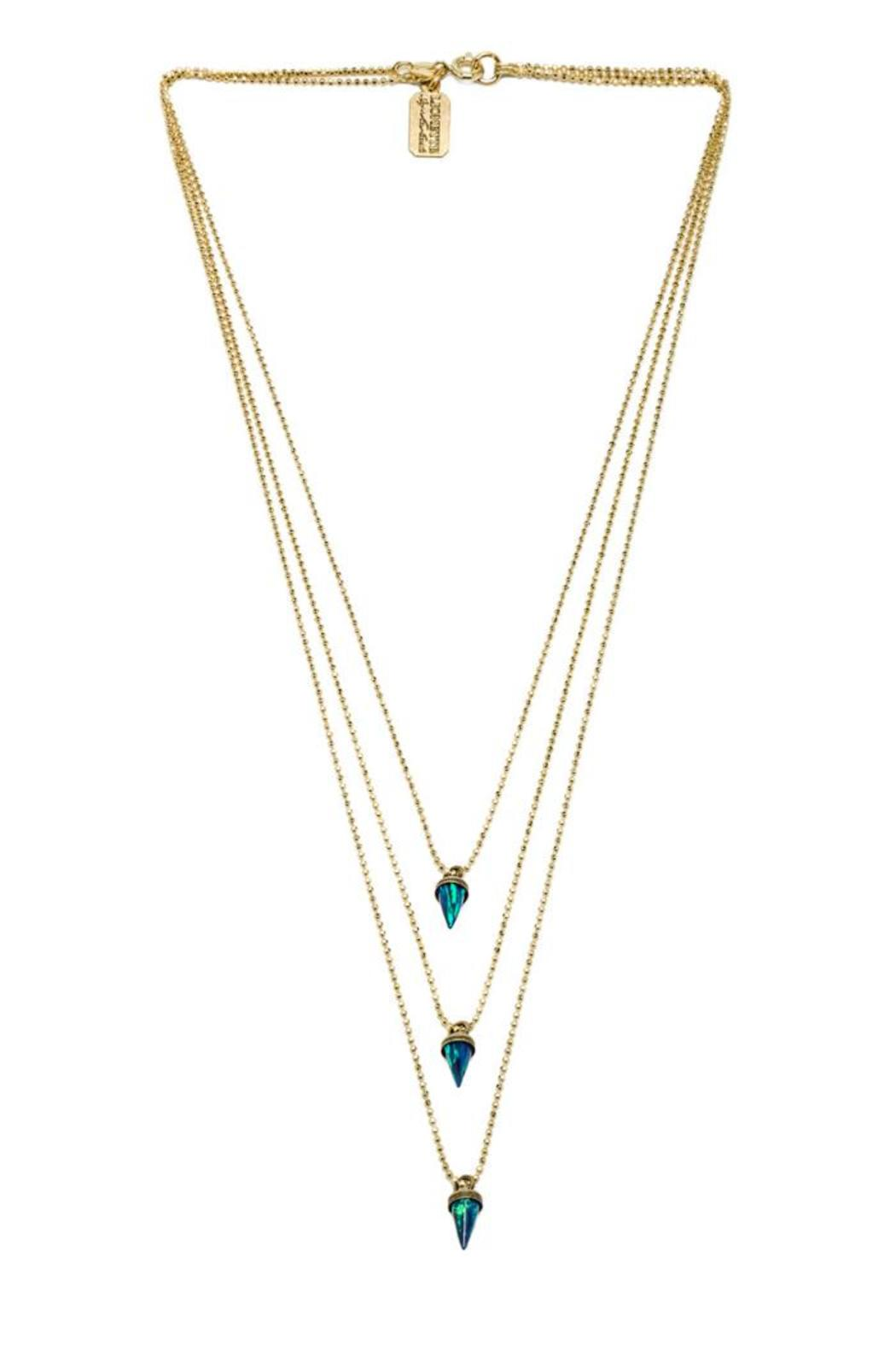 Lionette Avish Triple Necklace - Front Cropped Image