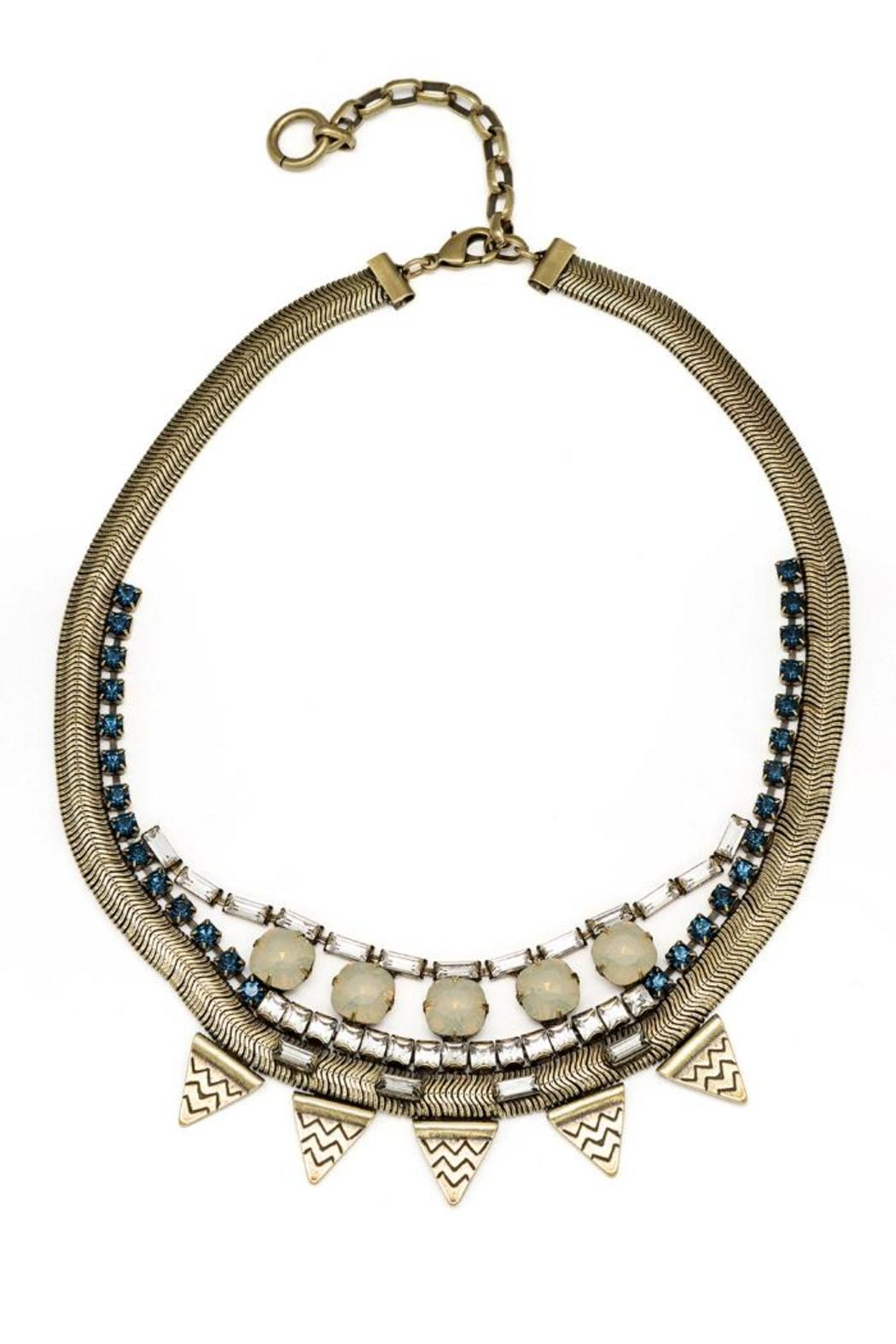 Lionette Chappaqua Statement Necklace - Main Image