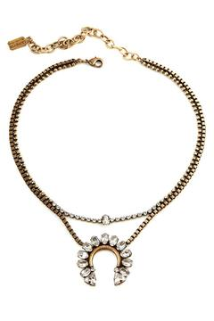 Shoptiques Product: Yahli Crystal Necklace