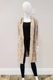 Johnny Was Lior Duster, Light Beige - Front cropped
