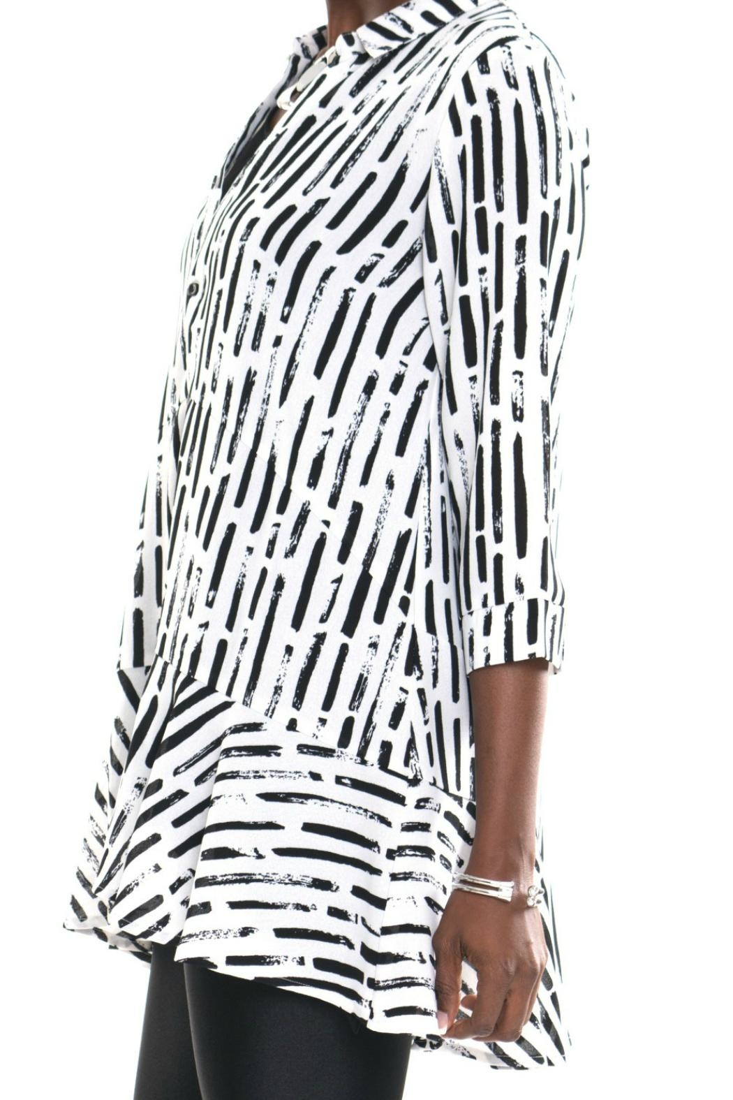 Lior Paris Button Front Tunic - Side Cropped Image