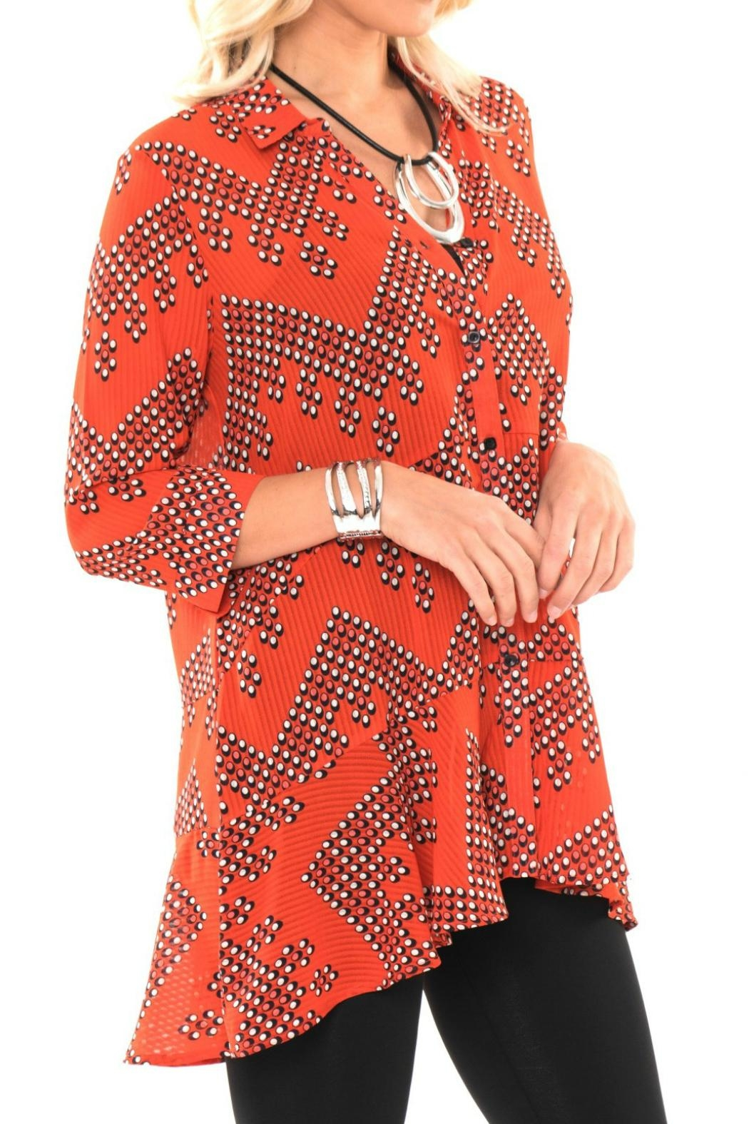 Lior Paris Button Front Tunic - Main Image