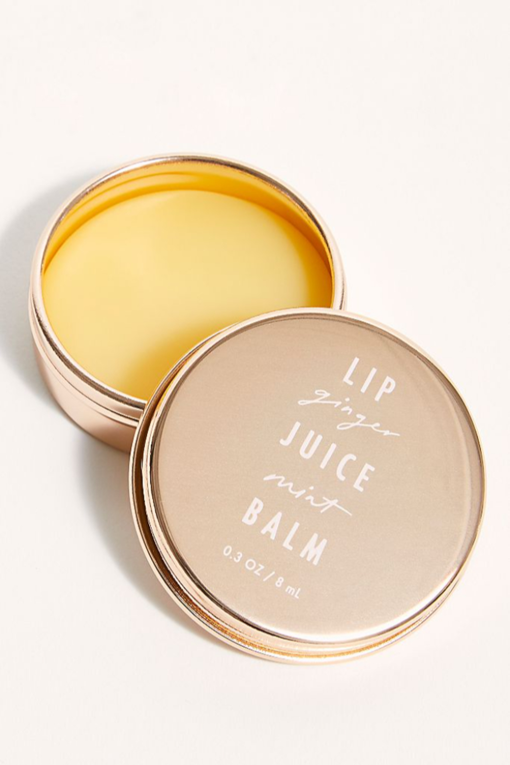 Free People  Lip Juice Balm in Ginger Mint - Front Full Image