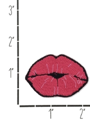 Wildflowers Lips Patch - Side cropped