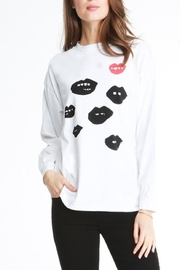 Michelle by Comune Lips Shirt - Product Mini Image
