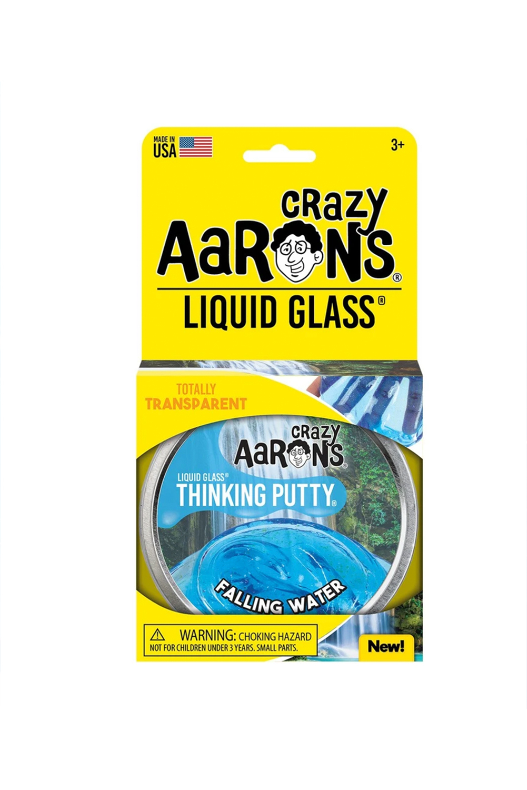Crazy Aaron's  Liquid Glass Putty: Falling Water - Main Image