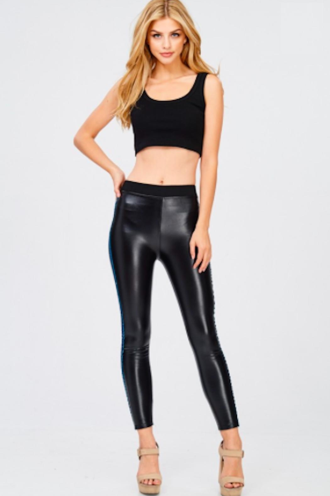 TIMELESS Liquid Leather Pants - Main Image