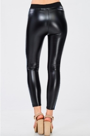 TIMELESS Liquid Leather Pants - Back cropped