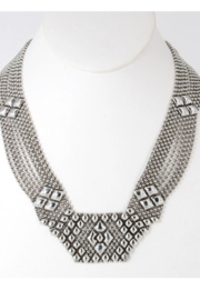 Liquid Metal Necklace N5AS - Product Mini Image