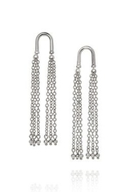 C+I Liquid Metal Tassel Earrings - Product Mini Image