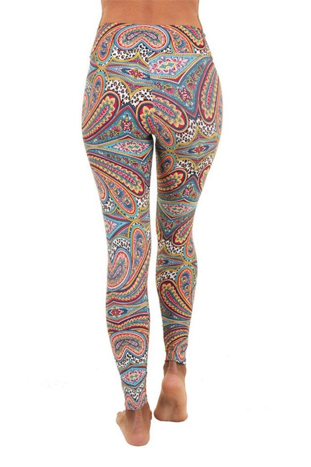 Liquido Active Bliss Paterned Legging - Side Cropped Image