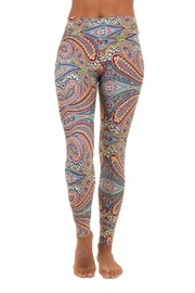 Liquido Active Bliss Paterned Legging - Front cropped