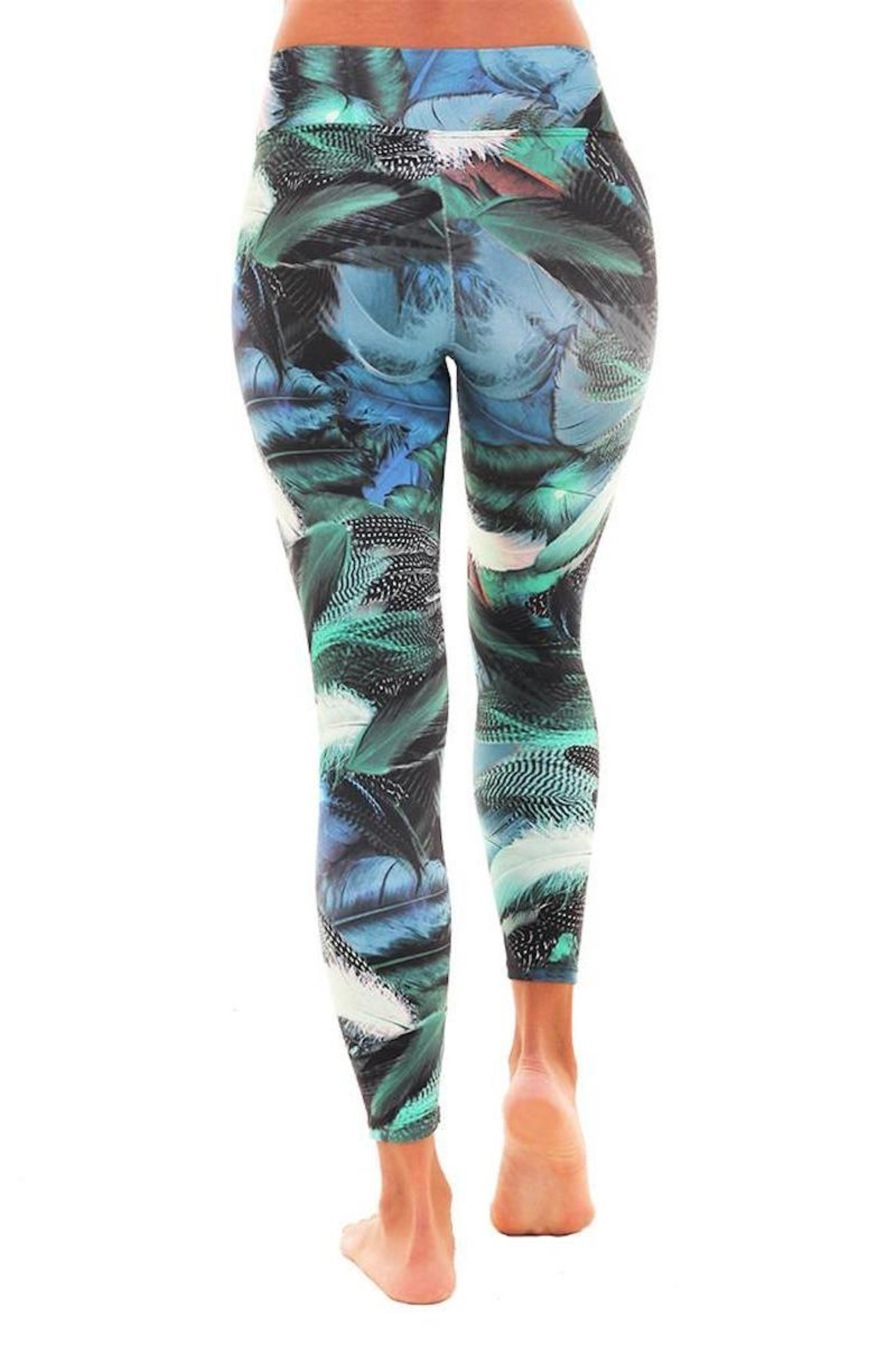 Liquido Active Goose Feathers Legging - Side Cropped Image