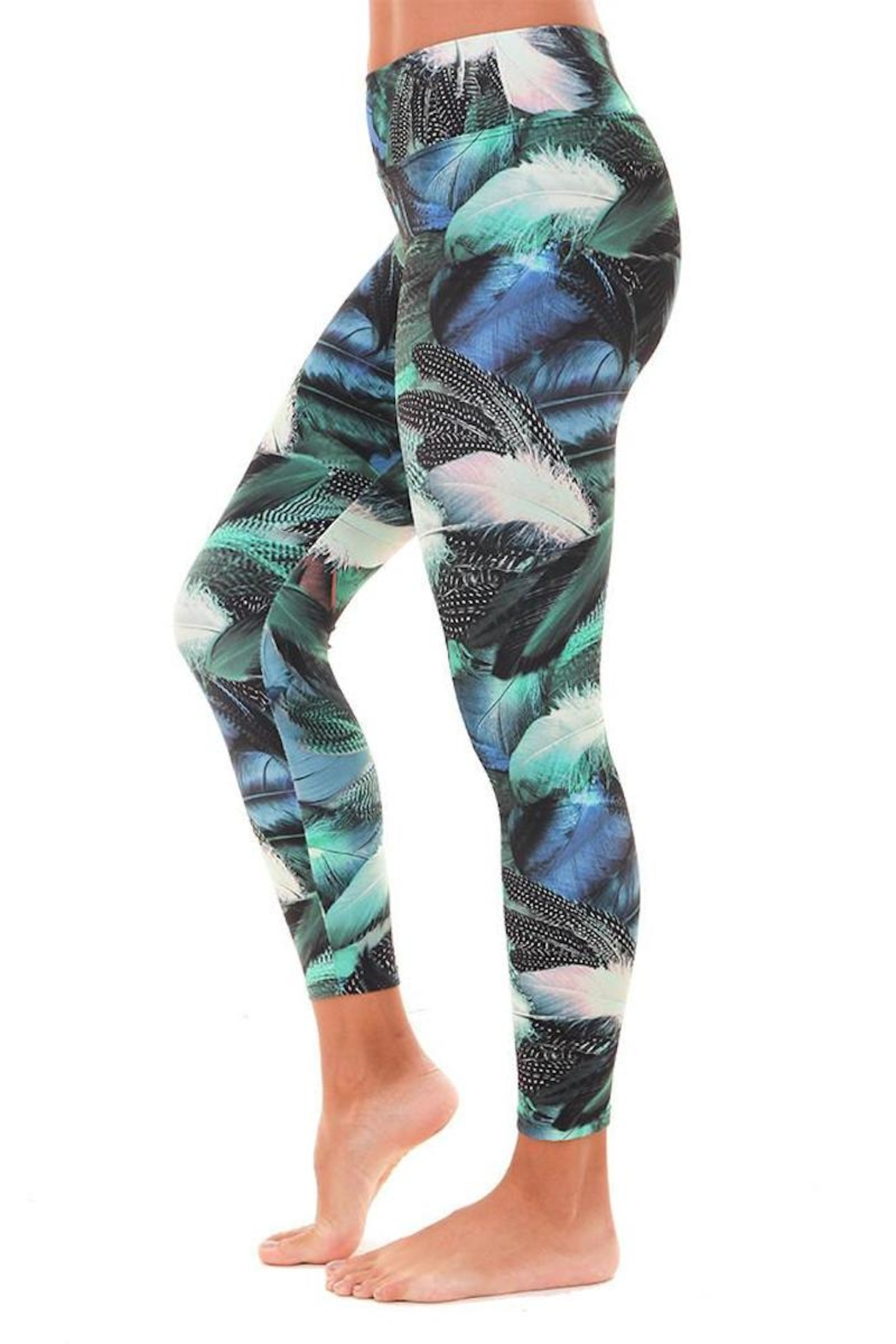 Liquido Active Goose Feathers Legging - Front Full Image